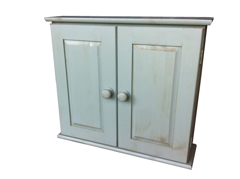 Distressed bathroom cabinet Distressed wall cabinet for bathroom