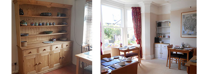 Welsh Dressers made from sustainable wood