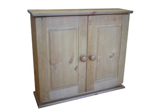 Wye Pine Pine Bathroom Cabinet With Adjustable Shelves