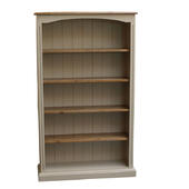 Painted Fluted Bookcase